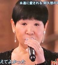 和田アキ子の目は眼瞼下垂