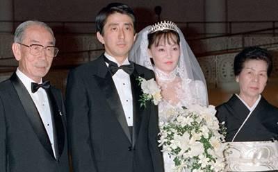 安倍昭恵と安倍晋三の馴れ初めと結婚