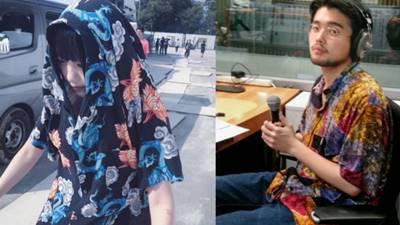 井口理とあのちゃんの匂わせシャツ